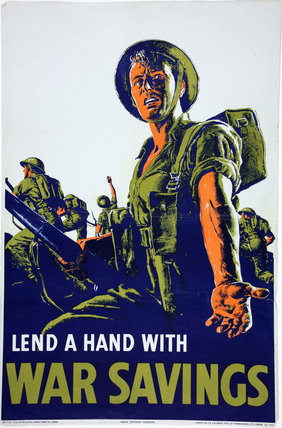 Lend A Hand With War Savings