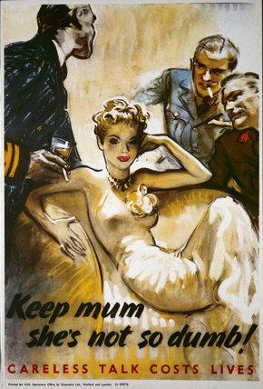 Keep Mum, She's Not So Dumb