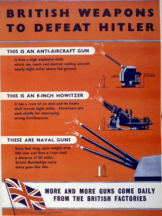 British Weapons to Defeat Hitler - Mounted Guns