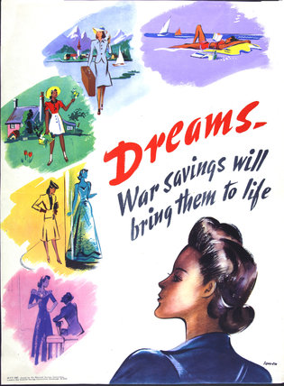 Dreams - War Savings Will Bring Them to Life