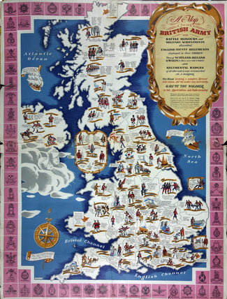 A Map of the British Army