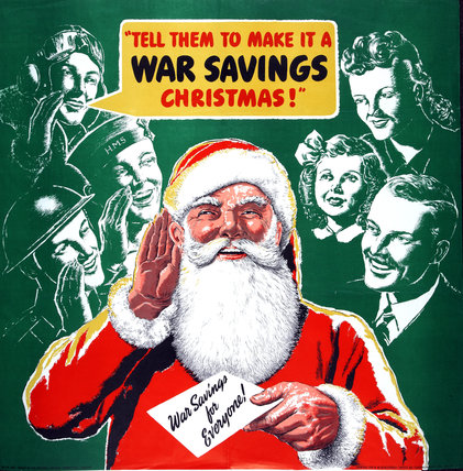 Tell Them To Make It A War Savings Christmas