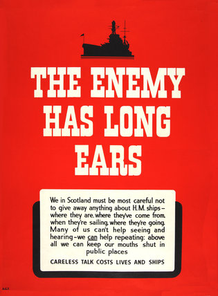 The Enemy Has Long Ears