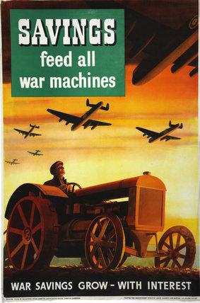 Savings Feed All War Machines