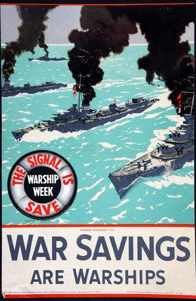 War Savings Are Warships