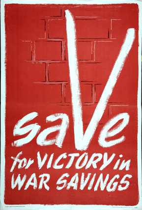 Save For Victory In War Savings