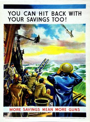 More Savings Means More Guns