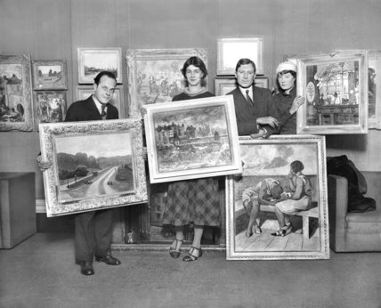 East London artists exhibit at Lefevre Galleries, London - 5-December-1932