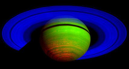 Saturn Aurora Captured by Cassini Spacecraft