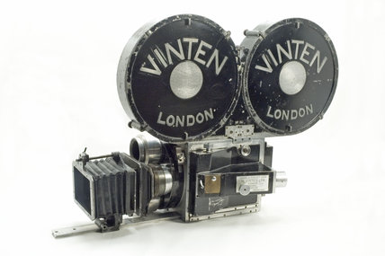 John Logie Baird's intermediate film camera, c 1936.