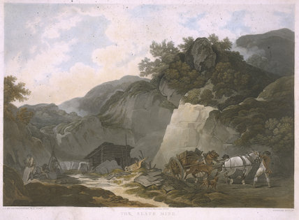 The Slate Mine', Rydal Water, Cumberland, 1800.
