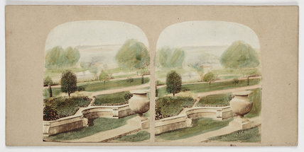 View of the Italian Flower Garden...', c 1880