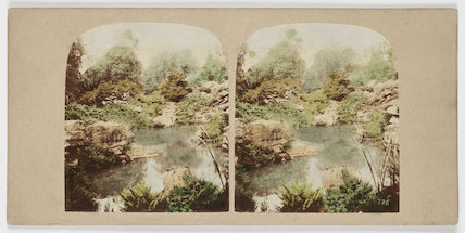 View of the Rock Pond...', c 1880