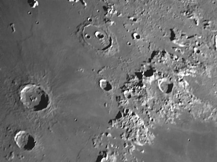 Autolycus and Aristillus and Cassini Craters, by Jamie Cooper.