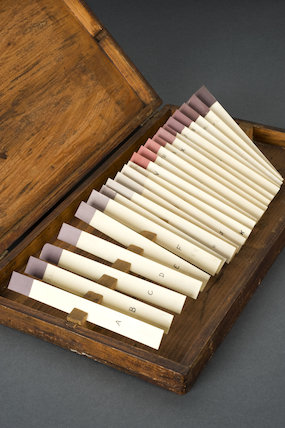 Skin colour test kit. England, c.1935.
