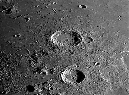 Aristoteles & Eudoxus Craters, by Jamie Cooper.