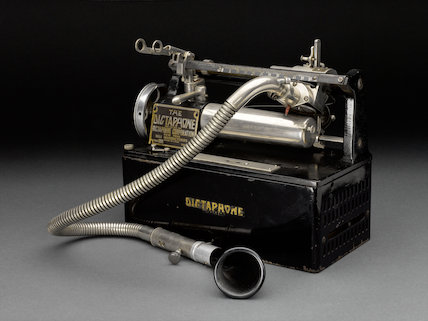 Dictaphone, Type A, c. 1924.