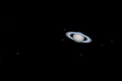 Saturn, by Jamie Cooper.