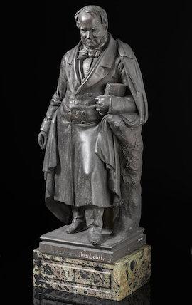 Friedrich Heinrich Alexander Baron Humboldt, by C. Wolgast. 1851.