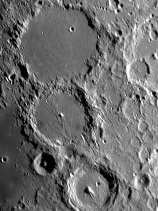 Ptolemaeus, Alphonsus and Arzachel, by Jamie Cooper.