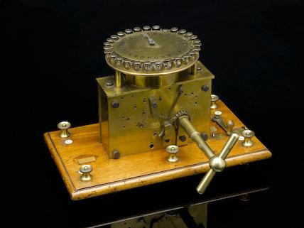 Theiler's type printer transmitter, c.1864.