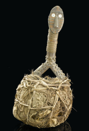 Medicine man's bag, Democratic Republic of Congo, late 19th-20th century.