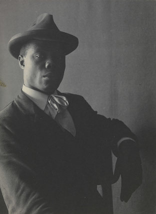 'Portrait of a Negro in Hat, Seated'