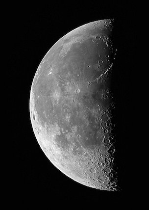 Last Quarter Moon, by Jamie Cooper.