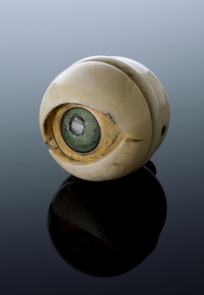 Model of an eye, Europe, 1601-1700.