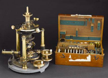 Tutton's goniometer, by Mr. A. E. Tutton, 1894.
