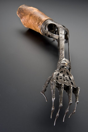 Artificial arm, 1840-1940.