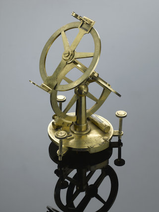 Astronomical angle measuring device.