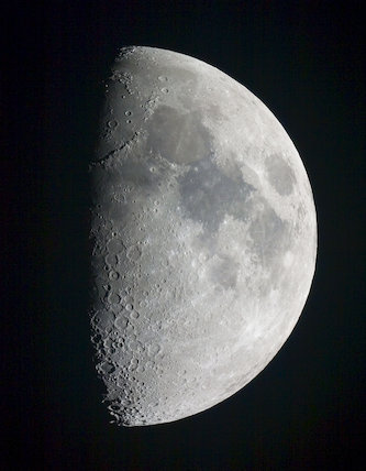 First Quarter Moon, by Jamie Cooper.