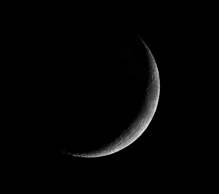 Waxing Crescent Moon, by Jamie Cooper.