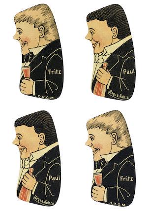 Les 2 Piccolos, puzzle, c.1900.
