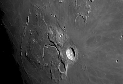 Aristarchus Crater and the Vallis Schröteri, by Jamie Cooper.
