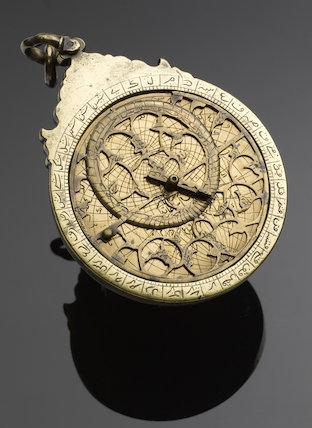 Islamic astrolabe, c.1645.