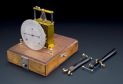 D'Arsonval electric chronometer, Paris, France, 1902
