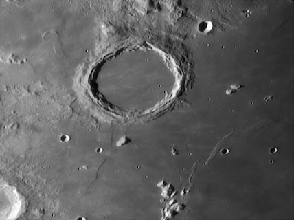 Archimedes Crater, by Jamie Cooper.