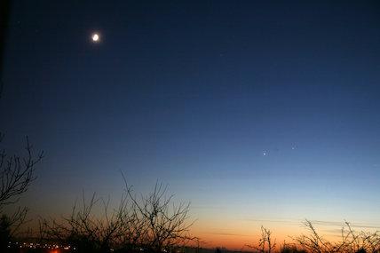 Jupiter & Venus, by Jamie Cooper.