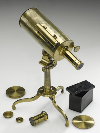 Reflecting telescope, by James Watson, 19th century.
