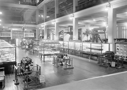 East Hall of the Science Museum, 1940.