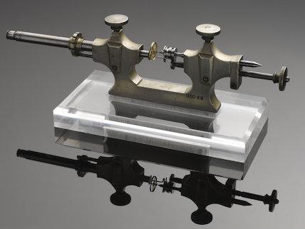 Watchmaker's jacot tool.