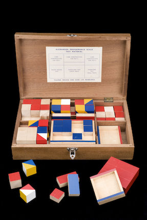 Alexander Performance Scale Test material, by Thomas Nelson and Sons Ltd, c.1950.