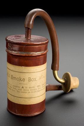 Smoke Box, English, 1895.