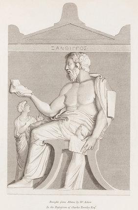 Tomb Stone of Xanthippus: Rees' Cyclopaedia