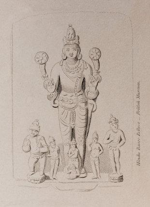 Hindu Basso Relievo: Rees' Cyclopaedia