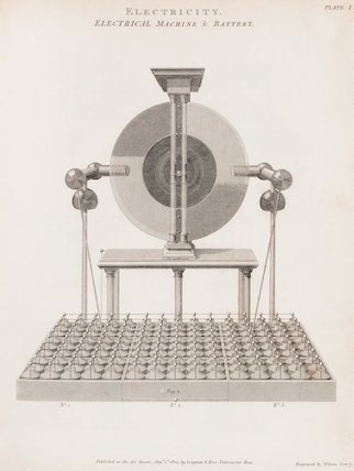 Electrical Machine & Battery: Rees' Cyclopaedia