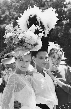 Ascot Hat and Hair Fashion