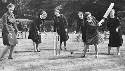 Nun Cricket at St. Catherine's Convent